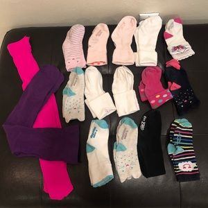 Bundle of socks and tights